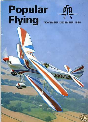 Popular Flying Magazine 1988 November-December